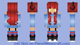 ~Music Girl~ℜ€Ð Minecraft Skin