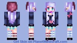 """""""ℜαιℵdℜσρs σℵ ℜσsεs"""" ~♥ Minecraft Skin"""