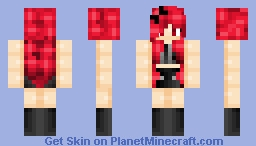 RED ... RED ...RED Minecraft Skin