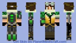 Apacolpyse Armor Minecraft Skin