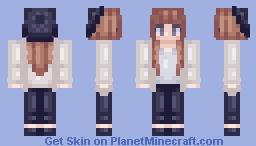✘Ðℯαℊℓε✘ - Tumbler girls series - Pastel Minecraft Skin