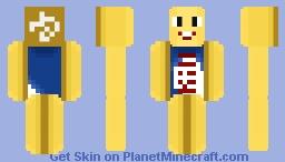 Twinkie Man Minecraft Skin