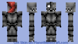 Undyne in armor ( Undertale ) Minecraft