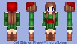 ~ ρєρѕι ςσℓα - Merry Christmas! - Christmas Spirit! - ♥ Minecraft Skin