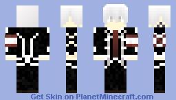 zero Kiryu Minecraft Skin