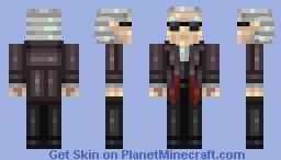The Twelfth Doctor Minecraft Skin