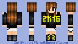 Welcome 2k16!~ New Year Skin 2015 >> 2016 Minecraft Skin
