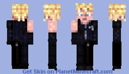 Cloud Strife | Final Fantasy VII: Advent Children Minecraft Skin