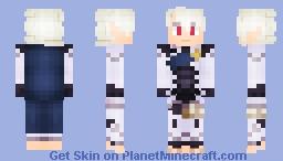 Corrin - Dual Fated Youth (FE:F) Minecraft Skin