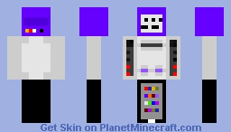Nintendo Machine Fusion Minecraft Skin