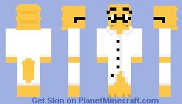 [Undertale] Alphys Minecraft Skin