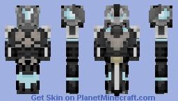 Frost Walker - Nuclear Winter Skin Contest Minecraft Skin