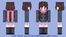 hiyori iki // noragami (˘ ᵕ ˘͈)♡ Minecraft Skin