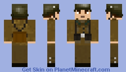 Royal Hungarian Army Soldier WW2 Minecraft