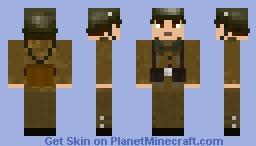 Royal Hungarian Army Soldier WW2 Minecraft Skin