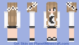 — Classic Moon Girl ¿ Minecraft Skin