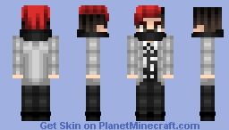 Josh Dun-twenty one pilots (Fairly Local) Minecraft Skin