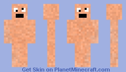 Nude Man Minecraft Skin