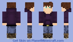 Ponyboy Curtis The Outsiders Minecraft Skin