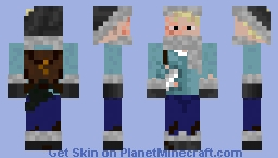 Post World Survivor Minecraft Skin