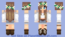 ~KV~ Remaking unshaded teen gals and boy from Skindex Minecraft Skin