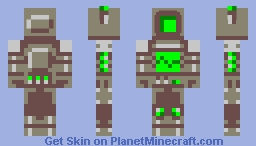 Another Robot (No name yet :I) Minecraft Skin