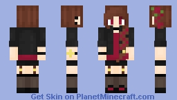 ALL THE INSPIRATION!!! ~ Persona ~ Rose Minecraft Skin