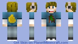 PewDiePie - Character Minecraft Skin