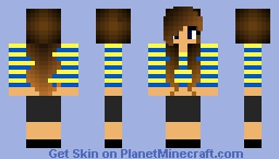 PIPER requested Minecraft Skin