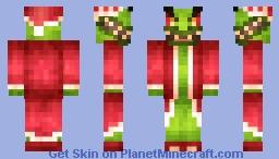 Grinch Minecraft Skin
