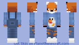 Fox favorite food Minecraft Skin