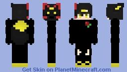 Genkudo Kitsune Boy Minecraft Skin