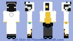 Dr. GLaDOS Minecraft Skin