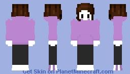 Painted Plummet Jaiden Animations Minecraft Skin