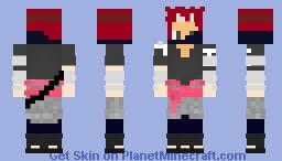 Kaito Senju | Traje Oficial | Treino Do Shikadai  | Team???? Minecraft Skin