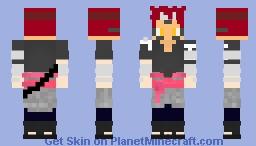 Kaito Senju | Modo Sennin | Treinamento Shikadai Minecraft Skin