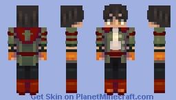 Oscar Pine (V7) // RWBY Minecraft Skin