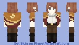 I wanted to make a Sky: CotL cape Minecraft Skin