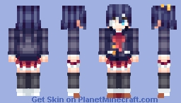 Rikka - Thinking z Minecraft Skin