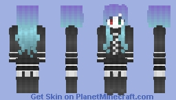 ANTI THE∞HOLiC (Alt ver in desc) Minecraft Skin