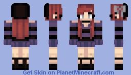goth girl? Minecraft