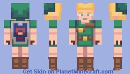 Child Link Minecraft