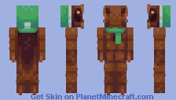 Connor the Cockroach (14th) Minecraft Skin