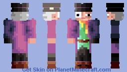 400th uploads   . Mad Hatter (better in 3D) Minecraft Skin