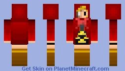 RED - Undertale RED Minecraft Skin