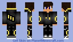 Umbreon Minecraft Skin