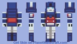 Ultra Magnus Minecraft Skin