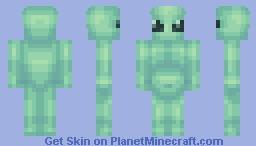 Extraterrestrial Minecraft Skin