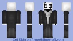 W. D. Gaster - Undertale Minecraft Skin