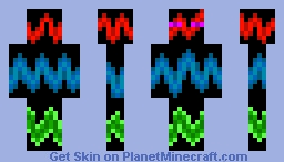 Hyper Enderman - Skin Minecraft Skin